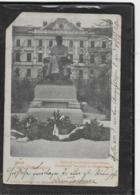AK 0343  Ober-Hollabrunn - Denkmal Des Pfarres Josef Strauss / Verlag Jordan Um 1901 - Hollabrunn
