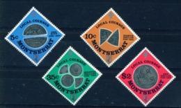 MONTSERRAT - 1975 Coins Set Unmounted/Never Hinged Mint - Montserrat