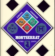 MONTSERRAT - 1975 Coins Miniature Sheet Unmounted/Never Hinged Mint - Montserrat