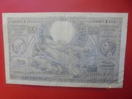 BELGIQUE 100 FRANCS 1-5-43 LEGENDE FLAMANDE CIRCULER - [ 2] 1831-... : Regno Del Belgio