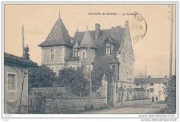 SAONE ET LOIRE SAINT IGNY DE ROCHE CHATEAU - Francia