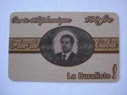"""Carte Téléphonique Prépayée """" La Buraliste ! """" (utilisé). - France"""