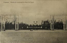 Kortrijk // Entree Du Boulevard De Smet De Naye 1914 - Kortrijk