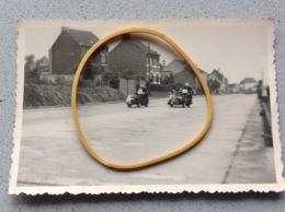 Photo Originale Course De Side Car A Identifier Le Lieu - Motociclismo