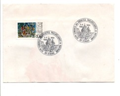 OBLITERATION CONGRES REGIONAL DE PHILATELIE BRETAGNE à DINARD 1986 - Postmark Collection (Covers)