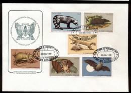 Sao Tome Et Principe 1981 Mammals FDC - Sao Tomé Y Príncipe