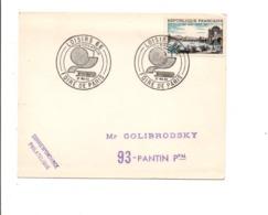 OBLITERATION PHILATELIE FOIRE DE PARIS 1966 - Postmark Collection (Covers)