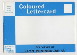 AJ28 Lettercard Of The Llyn Peninsula, 6 Views - Wales
