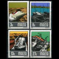 MALTA 1982 - Scott# 608-11 Shipbuilding Set Of 4 MNH - Malta