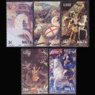 MALTA 2003 - Scott# 1118-22 Paintings Set Of 5 MNH - Malta