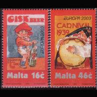 MALTA 2003 - Scott# 1123-4 Europa-Posters Set Of 2 MNH - Malta
