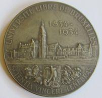 M05333 UNIVERSITE LIBRE DE BRUXELLES - PIERRE THEODORE VERHAEGEN  (90g) - Firma's