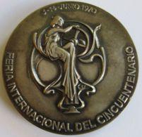 M02083  FERIA DE MUESTRAS DE BARCELONA - FERIA INTERNACIONAL DEL CINQUENTENARIO  1970  (112g) - Profesionales/De Sociedad