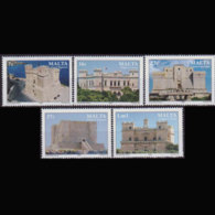 MALTA 2006 - Scott# 1260-4 Castles Set Of 5 MNH - Malta