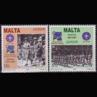 MALTA 2007 - Scott# 1286-7 Europa-Scouts Set Of 2 MNH - Malta