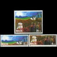 MALTA 1982 - Scott# B45-7 Christmas Set Of 3 MNH - Malta