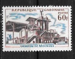 1965 - N° 181 **MNH - Richesses Minières - Gabon (1960-...)
