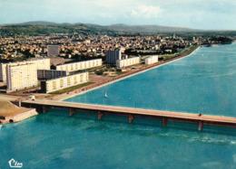 03 VICHY Quartier Des Ailes, Pont Barrage, Vue Aérienne Combier Années 1960 - Vichy