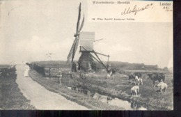 Leiden - Watermolentje - Maredijk - 1904 - Leiden