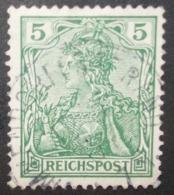 N°1618B TIMBRE DEUTSCHES REICH OBLITERE AVEC SIGNATURE GEPRUFT - Gebraucht