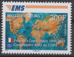 Wallis Et Futuna 2019 Mi. ? Joint Issue 20e Anniversaire EMS 20 Years Emission Commune E.M.S. UPU - Gezamelijke Uitgaven