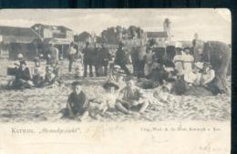Katwijk Aan Zee - Strandgezicht - 1900 - Kleinrond Katwijk - Katwijk (aan Zee)