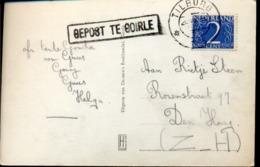 Goirle - Tilburg - Stempel Gepost Te Goirle - 1955 - Poststempel