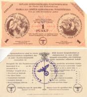 ESTLAND / OSTLAND - 1944 : 1 PUNKT - WW II - GERMAN OCCUPATION Of BALTIC STATES : ESTONIA / EESTI (ad140) - Estland