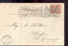Kleinrond Warfum - Groningen - 1905 - Postal History