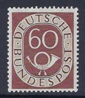 GERMANY FEDERAL 1951 POSTHORN NUMERAL Nº 21 - Ungebraucht
