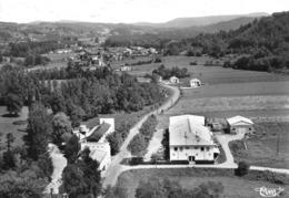 MANE - Route De Montgaillard - Vue Aérienne - Tirage D'éditeur N&B Non Dentelé - Sonstige Gemeinden