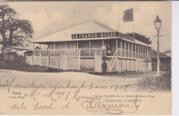 BOMA Vue Du Comptoir De La Grande Distillerie Belge ( LIQUEURS  CUSENIER). Publicité Au Dos 1907 - Kinshasa - Léopoldville