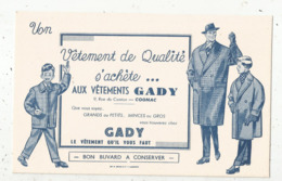 Buvard ,vêtement De Qualité ,GABY , 9 Rue Du Canton, COGNAC ,  CHARENTE ,frais Fr 1.55 E - Vestiario & Tessile