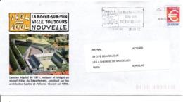 PAP ET FLAMME BICENTENAIRE DE LA ROCHE SUR YON VENDEE - Commemorative Postmarks