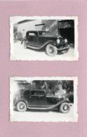 VOITURE  (à Identifier) -  (photo Années 30/40 , Format 7cm X 4,5cm) - Automobiles