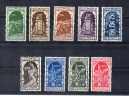 Italia - Regno - 1934 - Decennale Dell' Annessione Di Fiume - Posta Aerea - 9 Valori - Nuovi ** - (FDC17838) - 1900-44 Vittorio Emanuele III