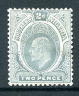 Southern Nigeria 1907-11 KEVII - Wmk. Mult. Crown CA - 2d Greyish-slate HHM (SG 35) - Nigeria (...-1960)