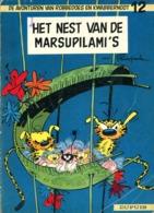 Robbedoes En Kwabbernoot 12 - Het Nest Van De Marsupilami (2de Druk) 1965 - Robbedoes En Kwabbernoot