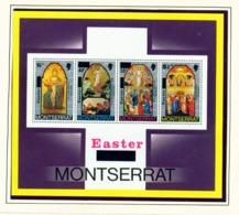MONTSERRAT - 1976 Easter Miniature Sheet Unmounted/Never Hinged Mint - Montserrat