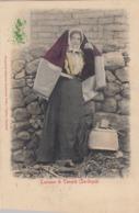 TEMPIO PAUSANIA-SASSARI-COSTUME TIPICO-CARTOLINA VIAGGIATA IL 6-8-1913 - Sassari