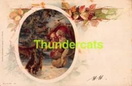 CPA LITHO WEZEL NAUMANN LEIPZIG NAIN LUTIN LITHO CARD GNOME DWARF ( BRUNDAGE - CLAPSADDLE ) - Contes, Fables & Légendes