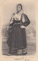 SANNORI-SASSARI-COSTUME TIPICO-CARTOLINA VIAGGIATA IL 6-9-1901 - Sassari