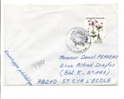 OBLITERATION 1 ER JOUR POINT PHILATELIE DE LONS LE SAUNIER JURA 1983 - Manual Postmarks