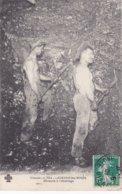 23-LAVAVEIX-les-MINES (Creuse)- Mineurs à L'ABATTAGE -  Ecrite Le 7/05/ 1909 - Frankrijk