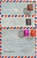 ESPAGNE : Lot De 7 Lettres Commerciales Pour La France - Spagna