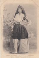 PLOAGHE-SASSARI-COSTUME TIPICO-CARTOLINA VIAGGIATA IL 2-5-1901 - Sassari