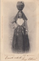 TORTOLI-NUORO-COSTUME TIPICO-CARTOLINA VIAGGIATA IL 6-5-1901 - Nuoro