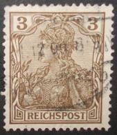 N°1643B TIMBRE DEUTSCHES REICH OBLITERE AVEC SIGNATURE GEPRUFT - Gebraucht