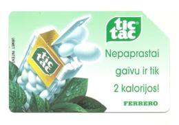 Lituania - Tessera Telefonica Da 50 Units - T649 - Litauen