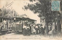 CPA 85 Vendée Les Sables D'Olonne Terminus Du Tramway Casino Des Pins - Sables D'Olonne